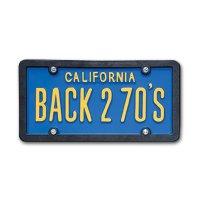USA Custom Order License Plate - California Blue