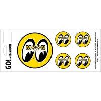 EYEBALL 5Piece Sticker Set
