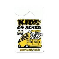 MOONEYES Parking Permit - KIDS ON BOARD