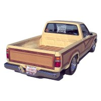 Toyota Hilux Woody Pick Up Truck - Body Side Wood Trim