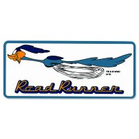 Road Runner Decal: Running Square