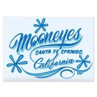 MOONEYES California Pinstripe Sticker Blue