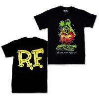 "Rat Fink Monster T-Shirt ""Standing Rat Fink"" Black"