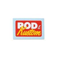 VANNUYS Rod & Kustom Sticker