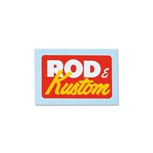 Photo1: VANNUYS Rod & Kustom Sticker