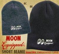 MOON Equipped Short Beanie Cap