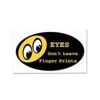 Don't Leave Finger Prints Sticker