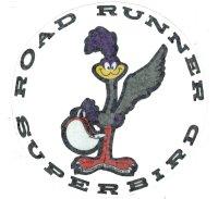 Road Runner Superbird Decal 25cm