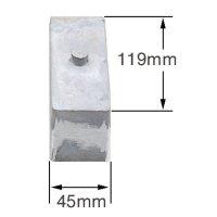 Lowering Block - 3 inch Small Block