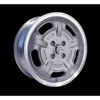 Speed Master Wheel 15x6  (Mag Gray) 4H/5H