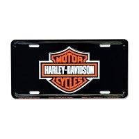 HARLEY - DAVIDSON Steel License Plates