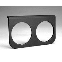 Auto Gauge & Autometer Black Alumi Gauge Pannel 2 Hole