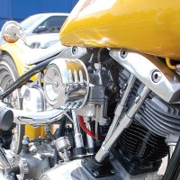 Chrome Air Cleaner Cover & Filter