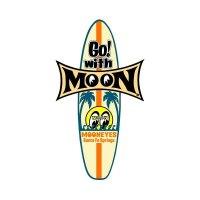 MOON Surfboard Sticker