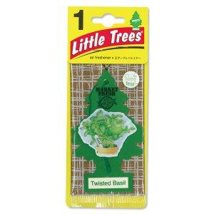 Photo1: Little Tree Paper Air Freshener Twisted Basil