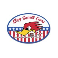 Clay Smith Oval Sticker