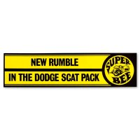 NEW RUMBLE IN THE DODGE SCAT PACK - Super Bee