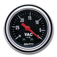 Mechanical Traditional  Gauge Vacuum  (30In hg)