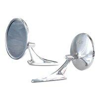 Chevrolet Bowtie Logo Style Mirror
