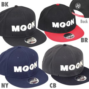 Photo2: MOON Wool Flat Visor Cap