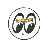 Mooneyes Patch White Eyeball 20cm