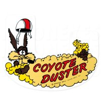HOT ROD Sticker COYOTE DUSTER