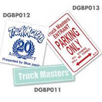 Blue Panic Truck Masters Decal