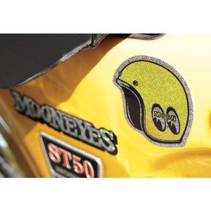 Photo3: MOON Helmet Sticker