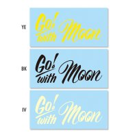 Go with MOON Sticker
