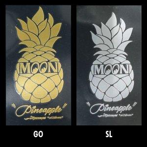 Photo2: Pineapple Sticker (Script Style)