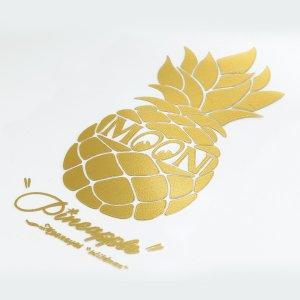 Photo4: Pineapple Sticker (Script Style)