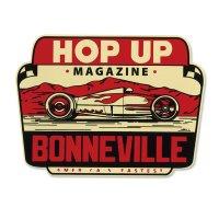 Hop Up Magazine Bonneville Water Slide Decal