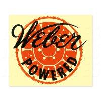 HOT ROD Weber Powered Sticker