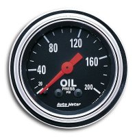 Mechanical Traditional  Gauge Oil Pressure  (0-200psi)