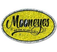 MOONEYES Oval Sticker