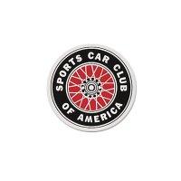 SCCA Sticker 12cm