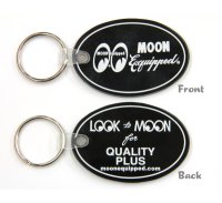 MOON Equipped Oval Rubber Key Ring