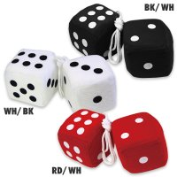 Hanging Fuzzy Dice