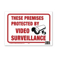 PROTECTED BY VIDEO SURVEILLANCE
