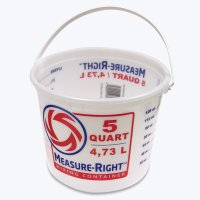 5 QUART Measure Bucket