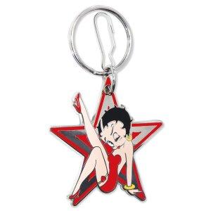 Photo: Betty Boop Star Key Chain