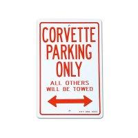 "Parking Signboard ""CORVETTE"""
