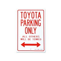 "Parking Signboard ""TOYOTA"""