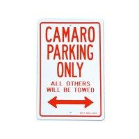 """Parking Signboard """"CAMARO"""""""
