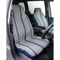 Saddleman Bucket Seat Cover Blue