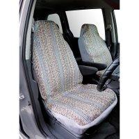 Saddleman Bucket Seat Cover Gray