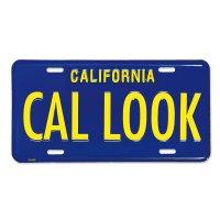 California Steel License Plates CAL LOOK