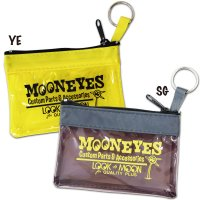 MOON Key Ring Zippered Pouch