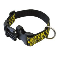 MOON Checker Doggy Collar  (M size)