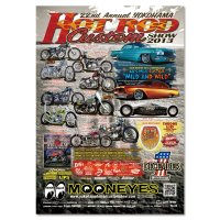 22nd Annual Yokohama Hot Rod Custom Show 2013 Poster